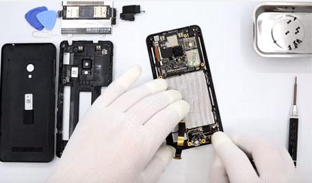 Ремонт смартфонов/телефонов Asus в СПб