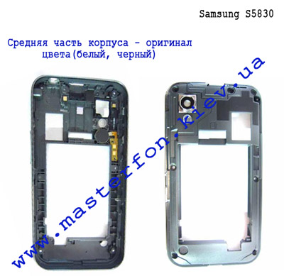 Замена корпуса для Samsung S5830 Galaxy Ace